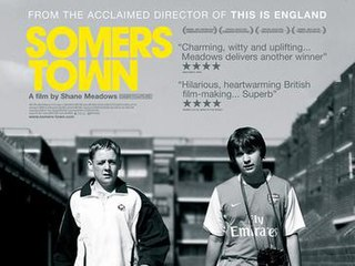 <i>Somers Town</i> (film) 2008 film by Shane Meadows