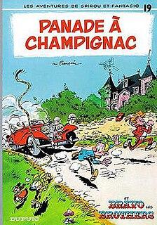 <i>Panade à Champignac</i> book by André Franquin