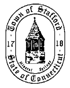 Stafford, Connecticut - Image: Stafford C Tseal