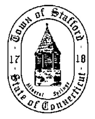 Stafford, Connecticut - Image: Stafford C Tseal