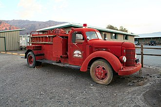 Stovepipe Wells, California - Image: Stovepipe Wells FD truck