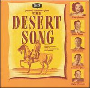 The Desert Song - 1944 studio album cover