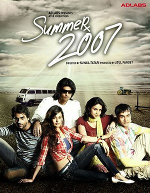 Summer 2007 - Promotional poster for the film