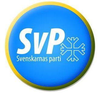 Party of the Swedes - Image: Svenskarnas parti logo