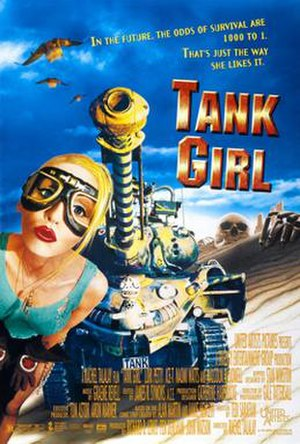Tank Girl (film) - Theatrical release poster