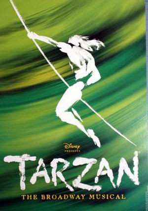 Tarzan (musical) - Image: Tarzan musical Broadway Poster