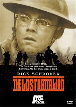 The Lost Battalion (2001 film) - Home video release cover art