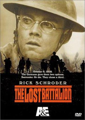 The Lost Battalion (2001 film) - Image: The Lost Battalion 2001 cover