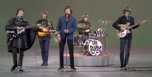 "Mr. Tambourine Man - The Byrds performing ""Mr. Tambourine Man"" on The Ed Sullivan Show, December 12, 1965."