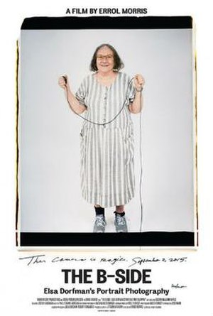The B-Side: Elsa Dorfman's Portrait Photography - Theatrical release poster