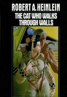<i>The Cat Who Walks Through Walls</i> novel by Robert A. Heinlein