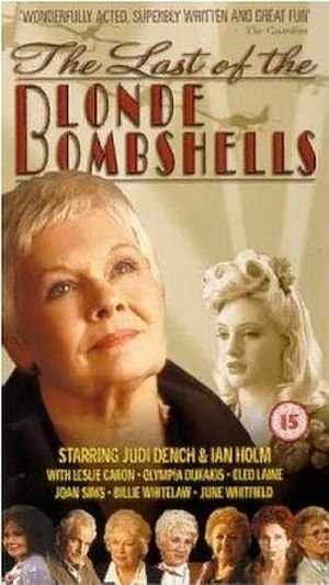 The Last of the Blonde Bombshells - British DVD cover