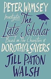 <i>The Late Scholar</i>