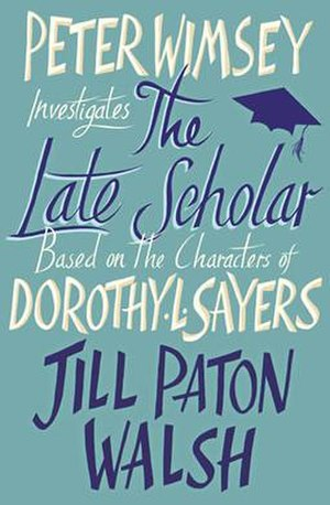The Late Scholar - 1st North American Edition front cover