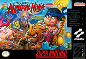 The Legend of the Mystical Ninja - Image: The Legend of the Mystical Ninja Coverart