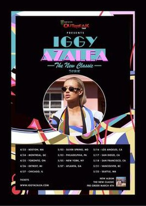 The New Classic Tour - Promotional poster for the tour