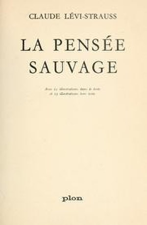 The Savage Mind - Cover of the first edition
