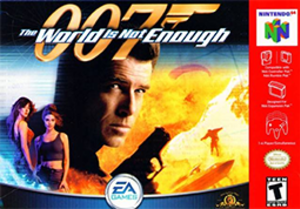 007: The World Is Not Enough (Nintendo 64) - Image: The World Is Not Enough Coverart