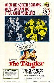 <i>The Tingler</i> 1959 film by William Castle