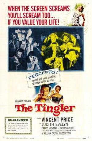 The Tingler - Pressbook ad for The Tingler