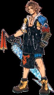 Tidus Final Fantasy character