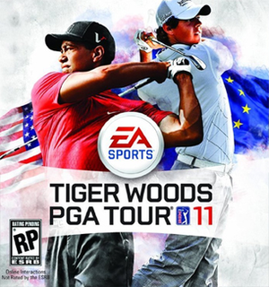 <i>Tiger Woods PGA Tour 11</i> 2010 video game