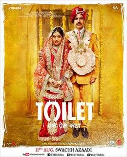 <i>Toilet: Ek Prem Katha</i> 2017 Indian film directed by Shree Narayan Singh