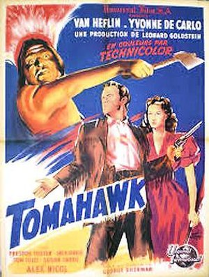 Tomahawk (film) - Theatrical Poster