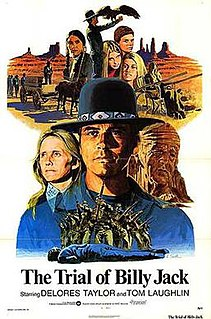 <i>The Trial of Billy Jack</i> 1974 film by Tom Laughlin