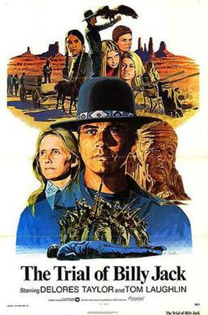 The Trial of Billy Jack - Theatrical release poster