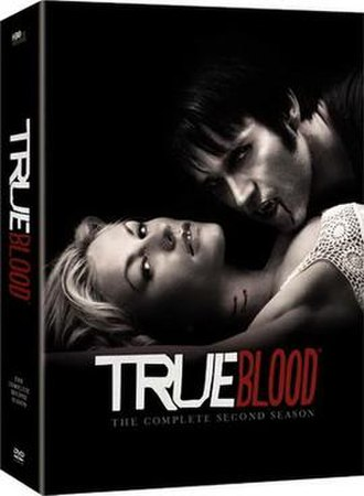 True Blood (season 2) - Image: True Blood Season 2 DVD Cover