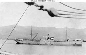 USS Nero prior to World War I