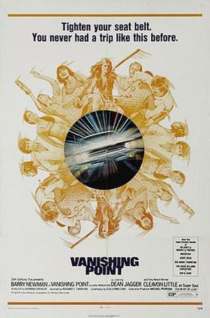 Vanishing Point (1971 film) - Image: Vanishingpointmoviep oster