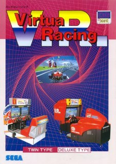 <i>Virtua Racing</i> 1992 racing game