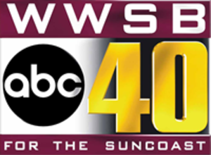 WWSB - Final channel 40 logo used from 2001 to 2004.
