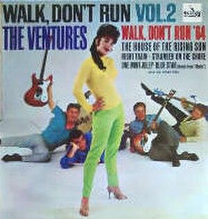 Walk, Don't Run, Vol. 2 - Image: Walk, Don't Run, Vol. 2
