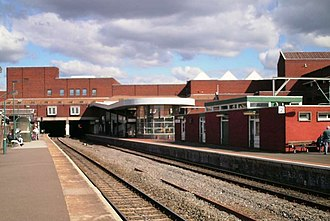 Walsall railway station - Image: Walsall 21st March 2007