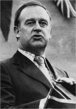 William Craig (Northern Ireland politician) - Image: William Craig