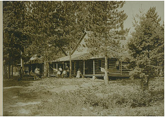 Red Arrow Camp - Williams Resort, on the site that would soon become RAC