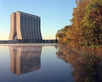 Collider Detector at Fermilab - Wilson Hall at Fermilab
