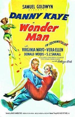Wonder Man (film) - Image: Wonder Man original cinema poster