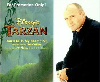 Youll Be in My Heart Song by Phil Collins