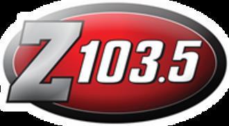 CIDC-FM - Image: Z103.5 New