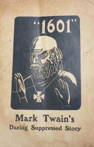 1601 (Mark Twain)
