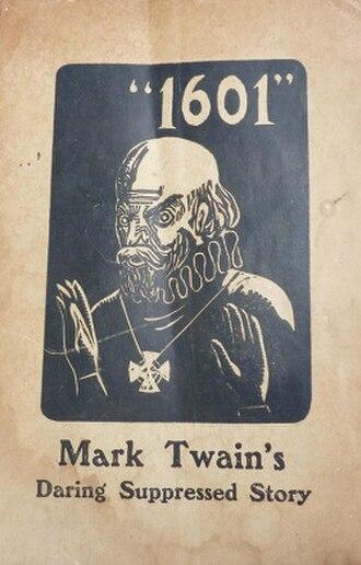 1601 (Mark Twain) - Image: 1601 (Mark Twain)