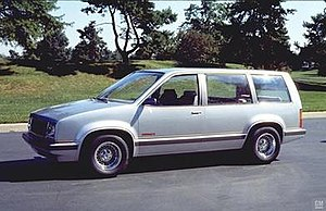 Chevrolet Nomad - The 1979 Chevrolet Nomad II concept car.