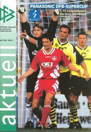 1996 DFB-Supercup - Image: 1996 DFB Supercup programme