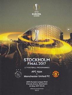 2017 UEFA Europa League Final Football match