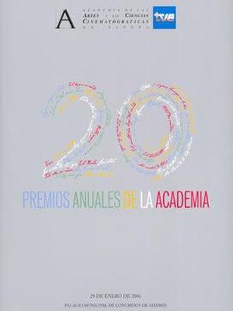 20th Goya Awards - Image: 20th Goya Awards logo