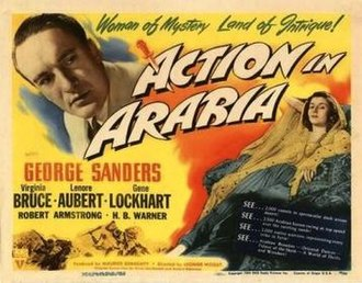 Action in Arabia - Image: Action in Arabia Film Poster